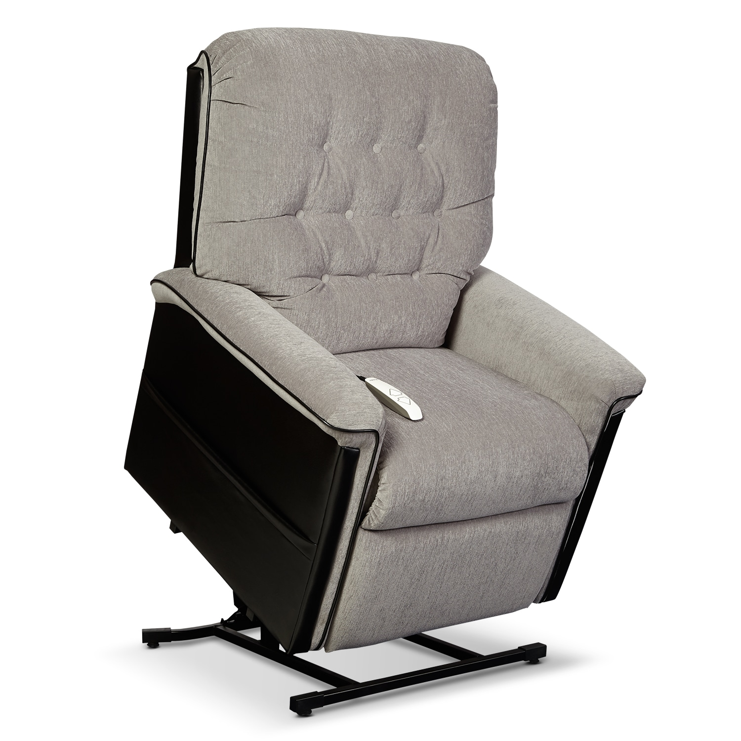 [Karmon Lift Chair - Black and Gray]