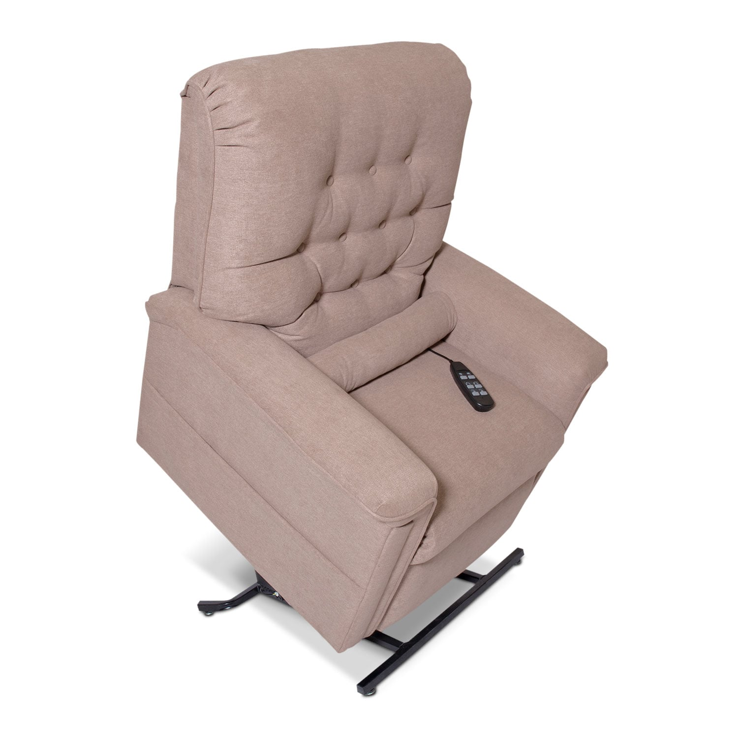 Living Room Furniture - Marcy Lift Chair - Beige