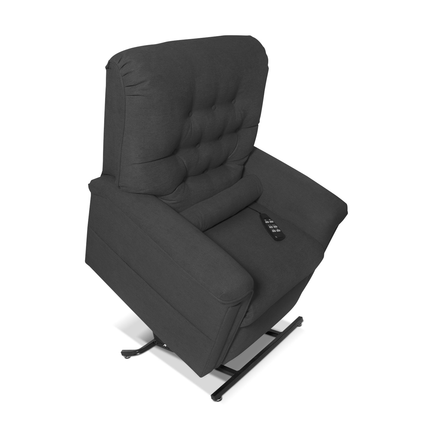 Living Room Furniture - Marcy Lift Chair - Gray