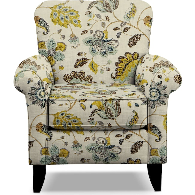 Accent and occasional furniture tracy accent chair floral
