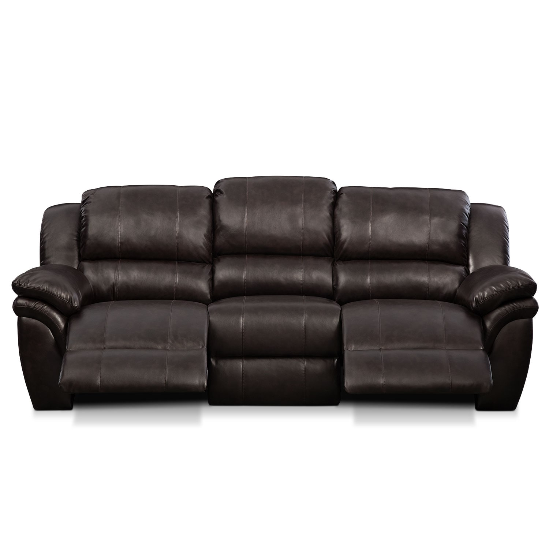 Aldo Power Reclining Sofa Value City Furniture And