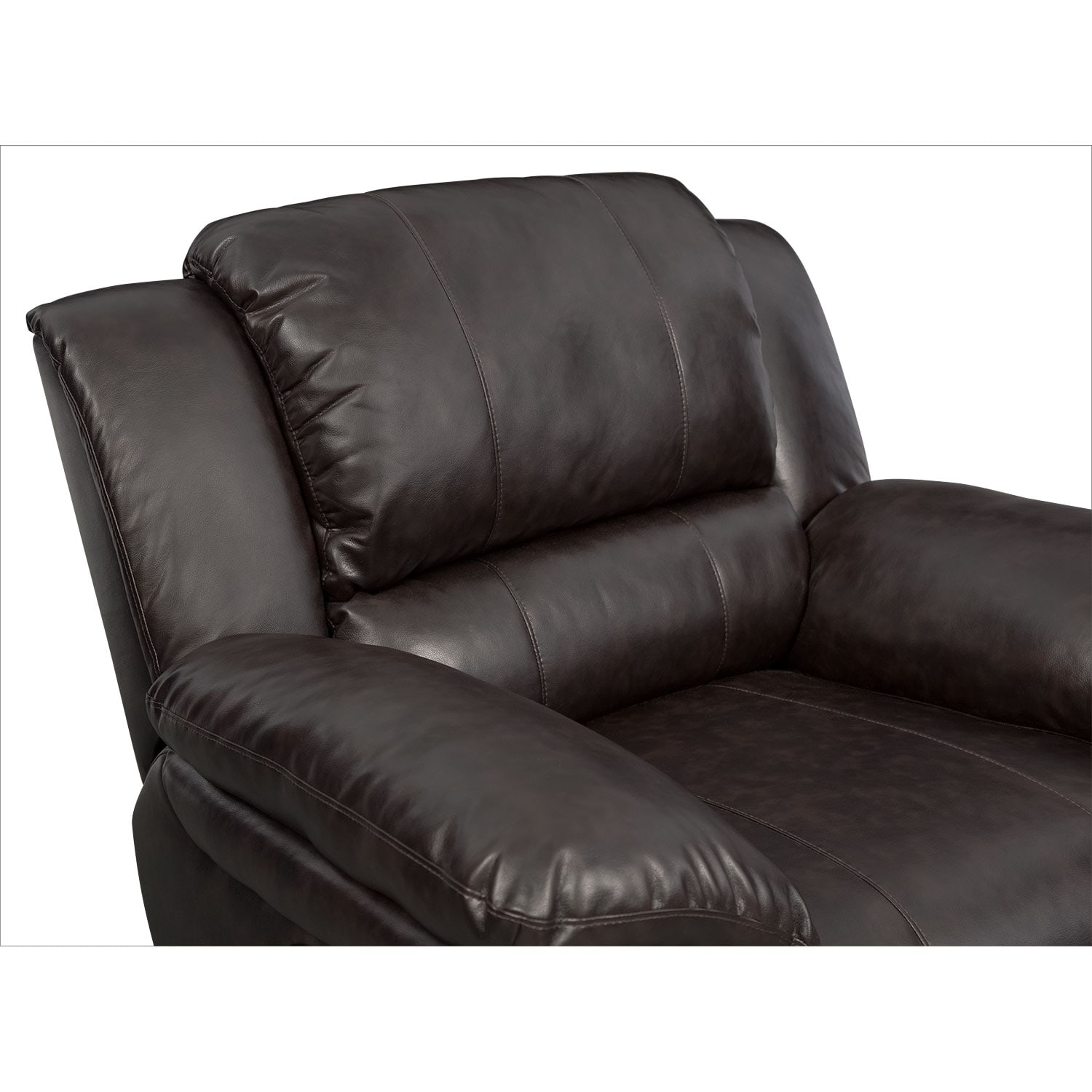 Aldo Power Reclining Sofa Loveseat and Recliner Set Brown