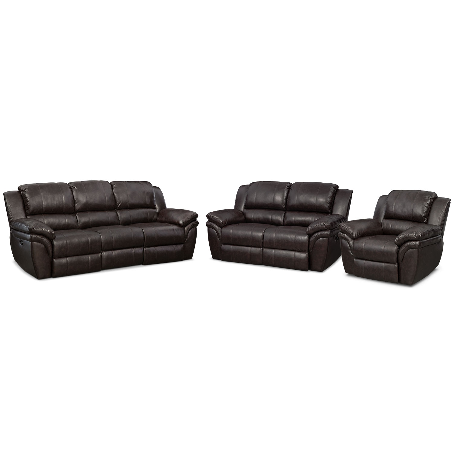 [Omni Brown 3 Pc. Power Reclining Living Room]