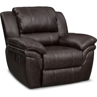 Aldo Manual Recliner - Brown