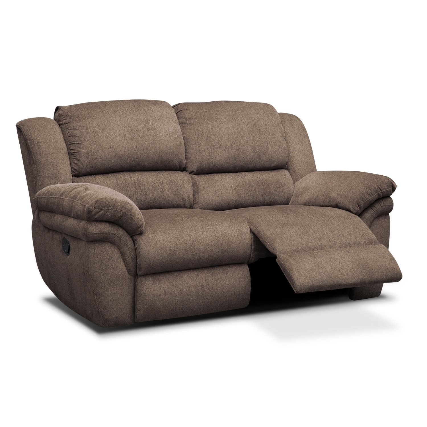 Click to change image.  sc 1 st  Value City Furniture & Aldo Manual Reclining Loveseat - Mocha | Value City Furniture islam-shia.org