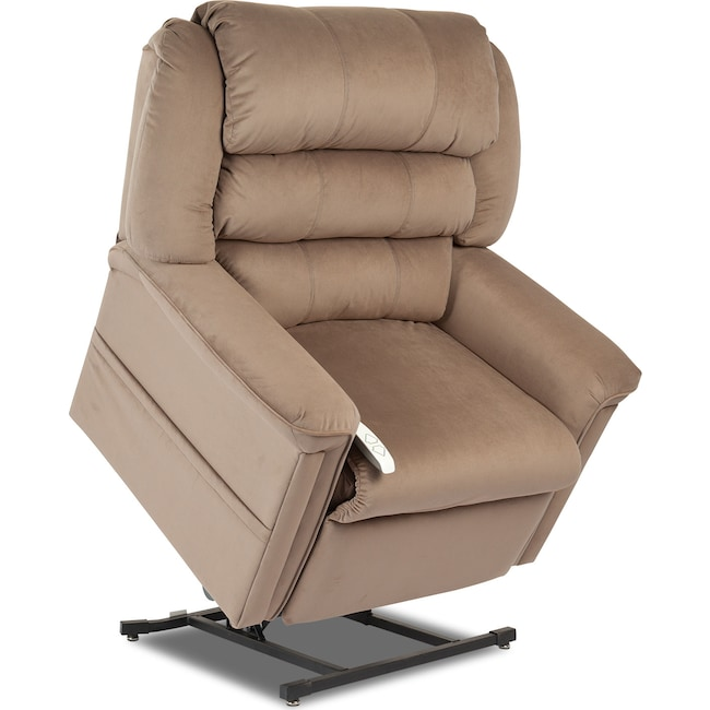Living Room Furniture - Sally Lift Chair - Earth