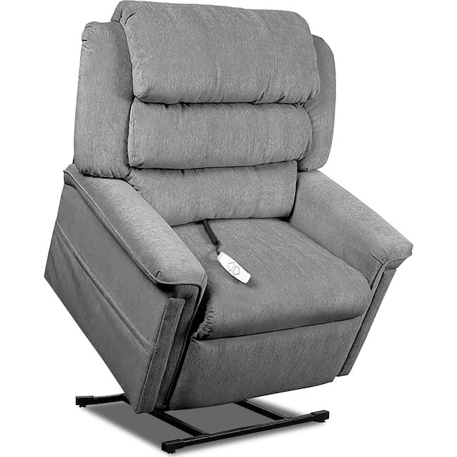 Living Room Furniture - Sally Lift Chair - Slate