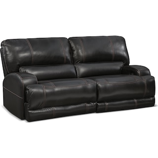 Barton Power Power Reclining Sofa - Black
