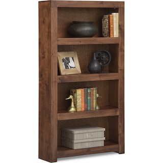 "Bricklin 60"" Bookcase - Fruitwood"