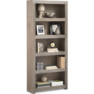 "Bricklin 72"" Bookcase - Driftwood"