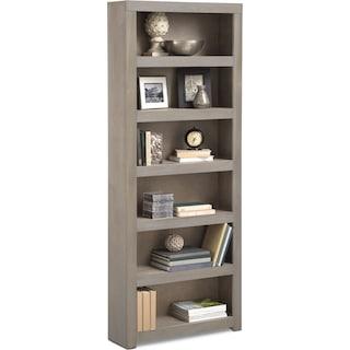 "Bricklin 84"" Bookcase - Driftwood"