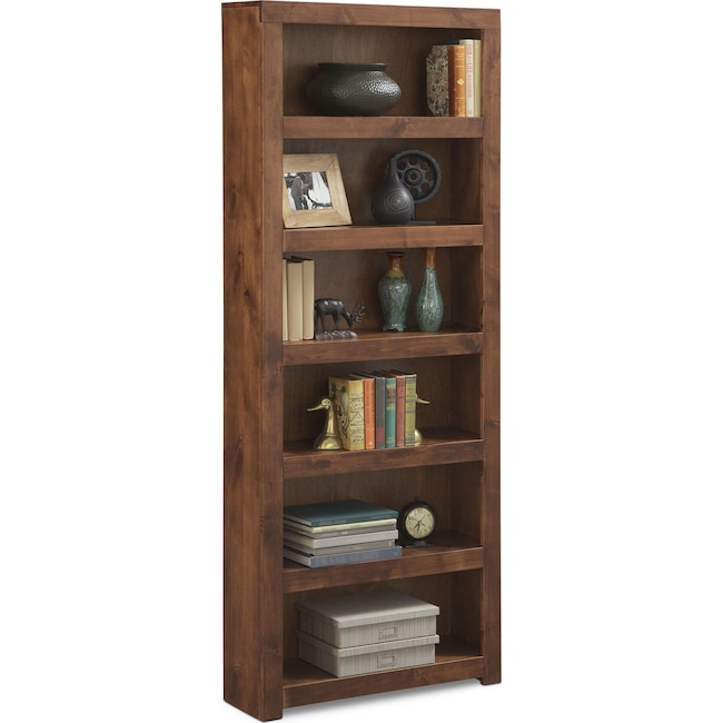 bookshelf inches tall cherry bookcase bookcases