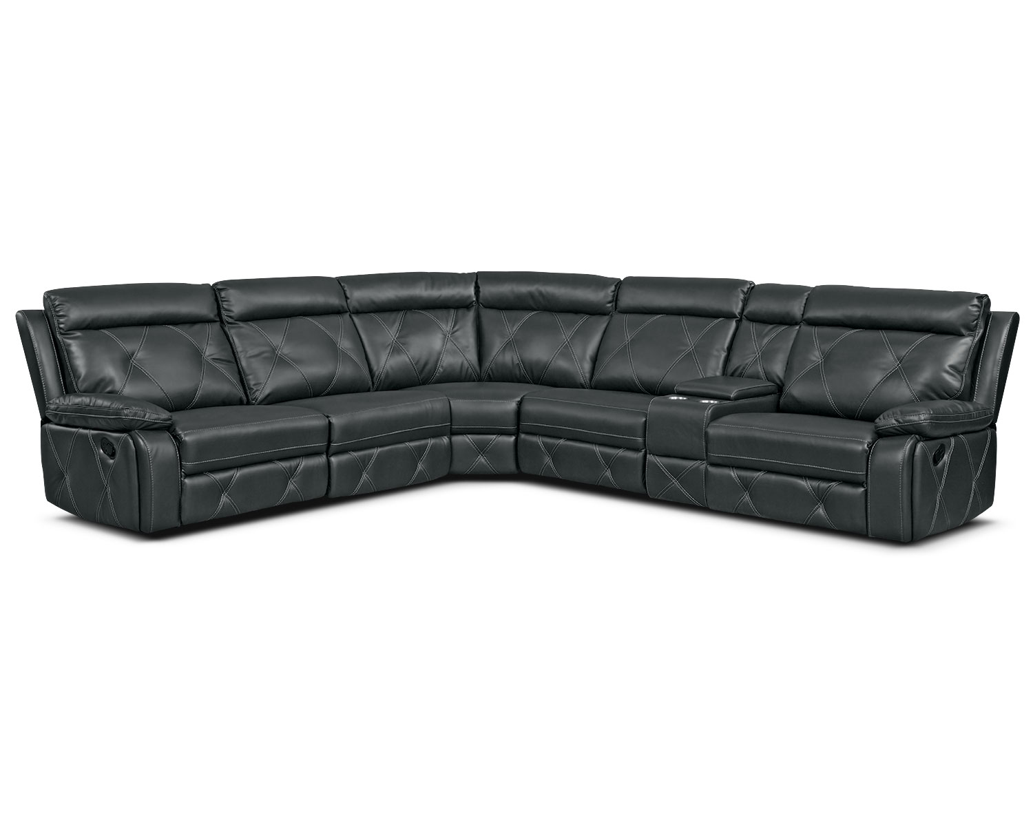 The Dante Charcoal Reclining Collection