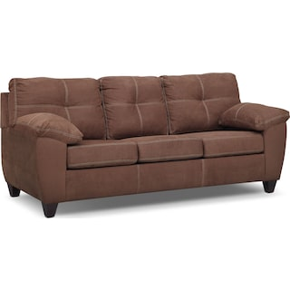 Ricardo Queen Innerspring Sleeper Sofa - Coffee