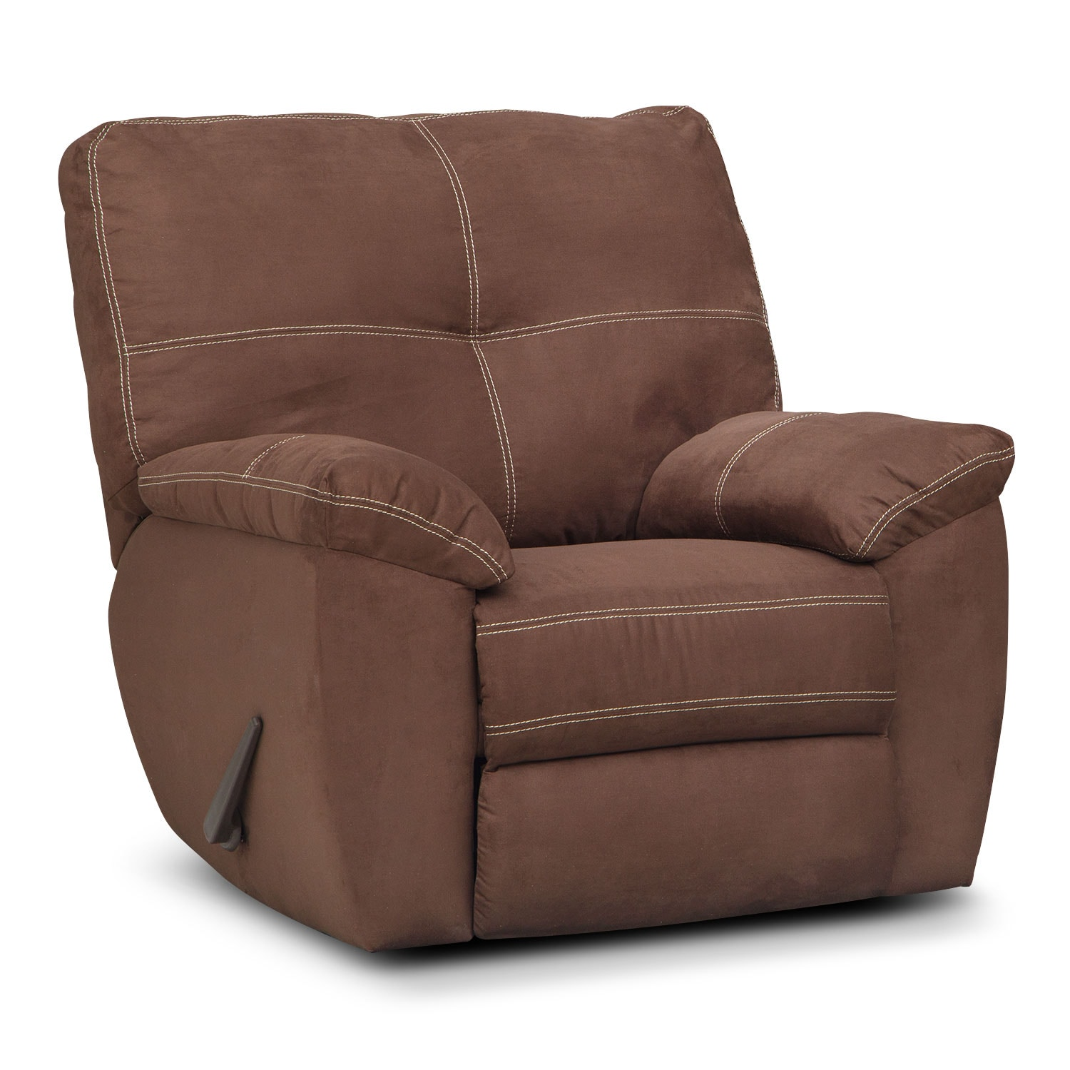 Living Room Furniture - Rialto Coffee Glider Recliner
