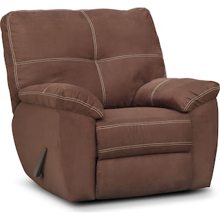 Ricardo Glider Recliner - Coffee