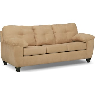 Ricardo Queen Innerspring Sleeper Sofa - Camel