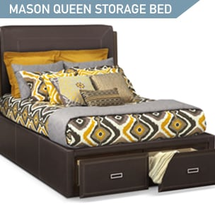 Shop the Mason Queen Storage Bed