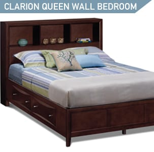 Shop the Clarion 5 piexe queen size wall bed