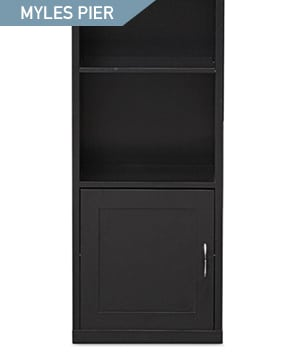 Shop the Myles Pier Bookcase