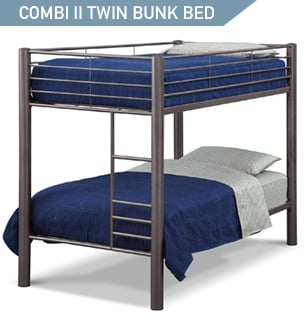 Shop the Combi II Twin Bunk Bed