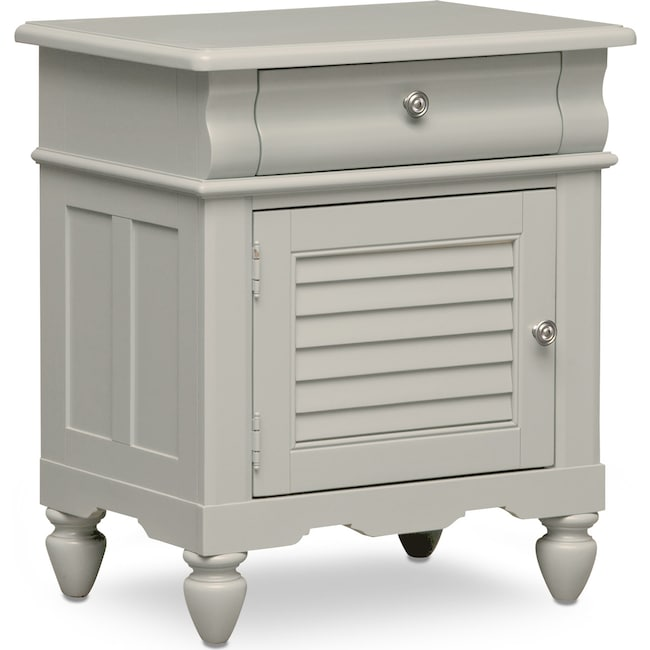 Kids Furniture - Seaside Nightstand - Gray