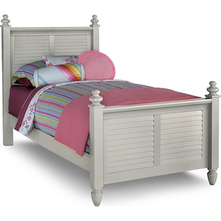Seaside Twin Bed - Gray