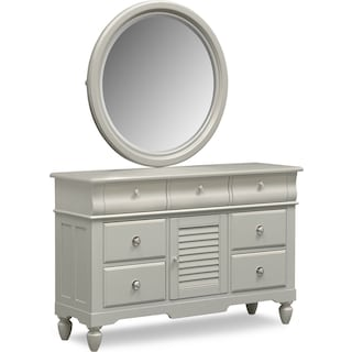 Seaside Dresser and Mirror