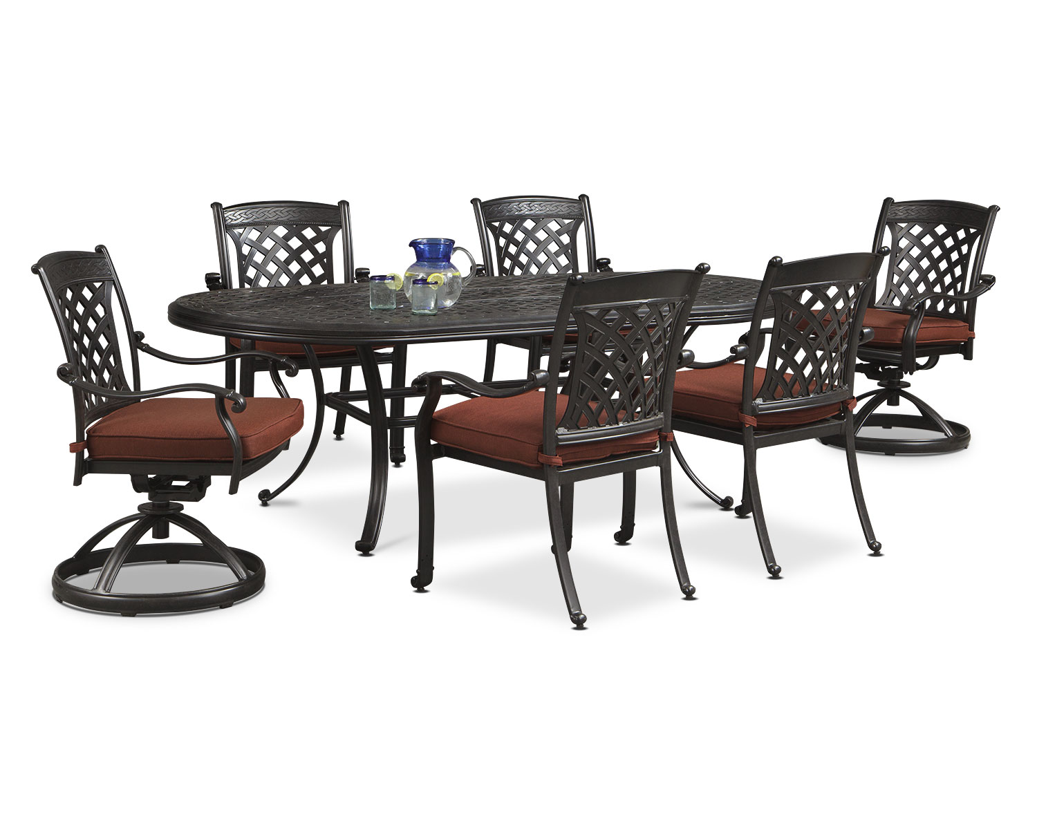 [The Glades Outdoor Dining Room Collection]