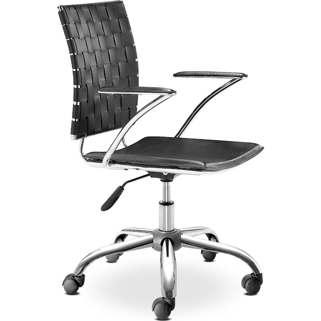 Home Office Furniture - Zeno Office Chair - Black