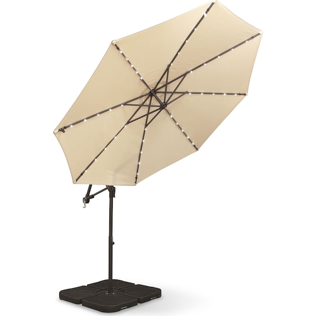 Outdoor Furniture - Sundowner Umbrella - Tan