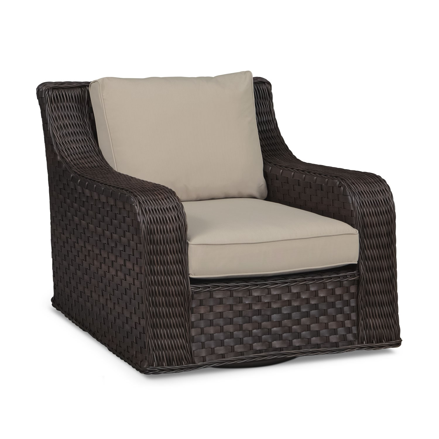 Outdoor Furniture - Doral Outdoor Swivel Rocker