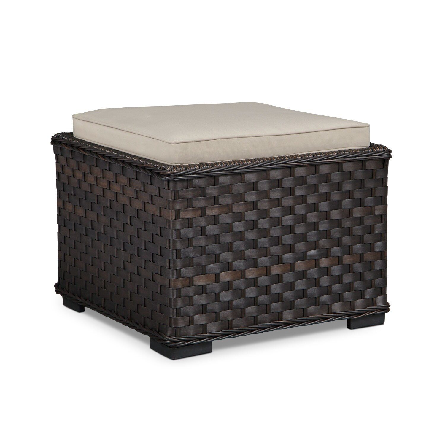 Outdoor Furniture - Doral Outdoor Side Table - Tan