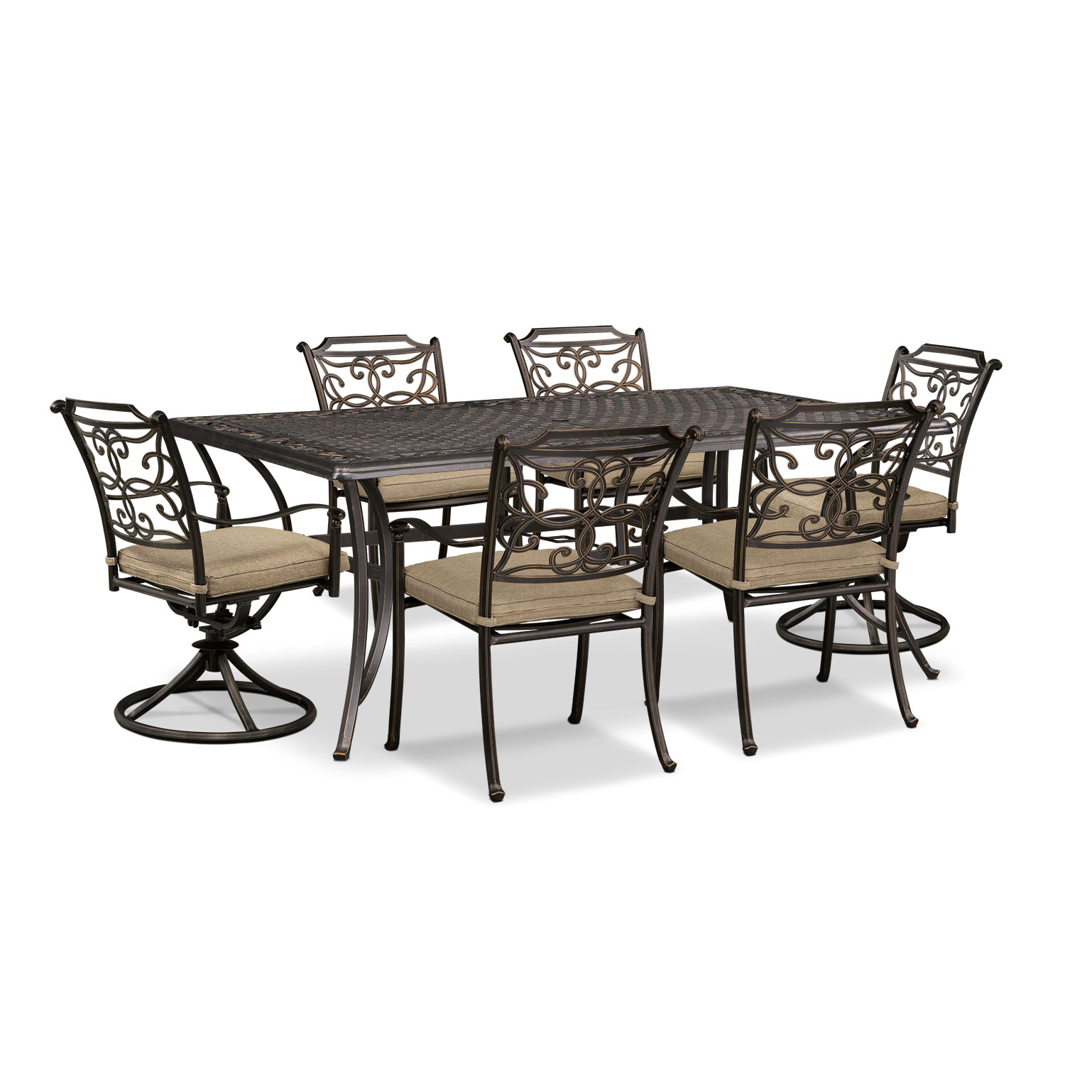 Ocala 7 Pc. Outdoor Dinette