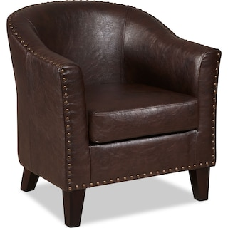 Brogan Accent Chair - Brown