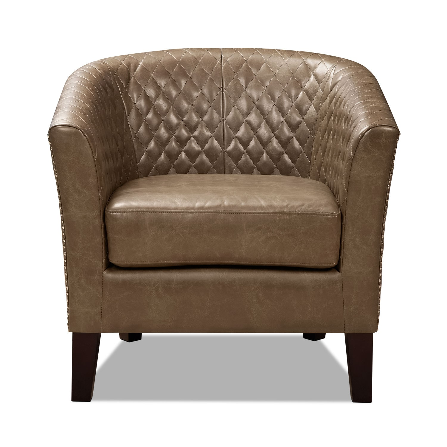 Luxor Accent Chair Brown