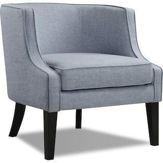 Bradley Accent Chair - Blue