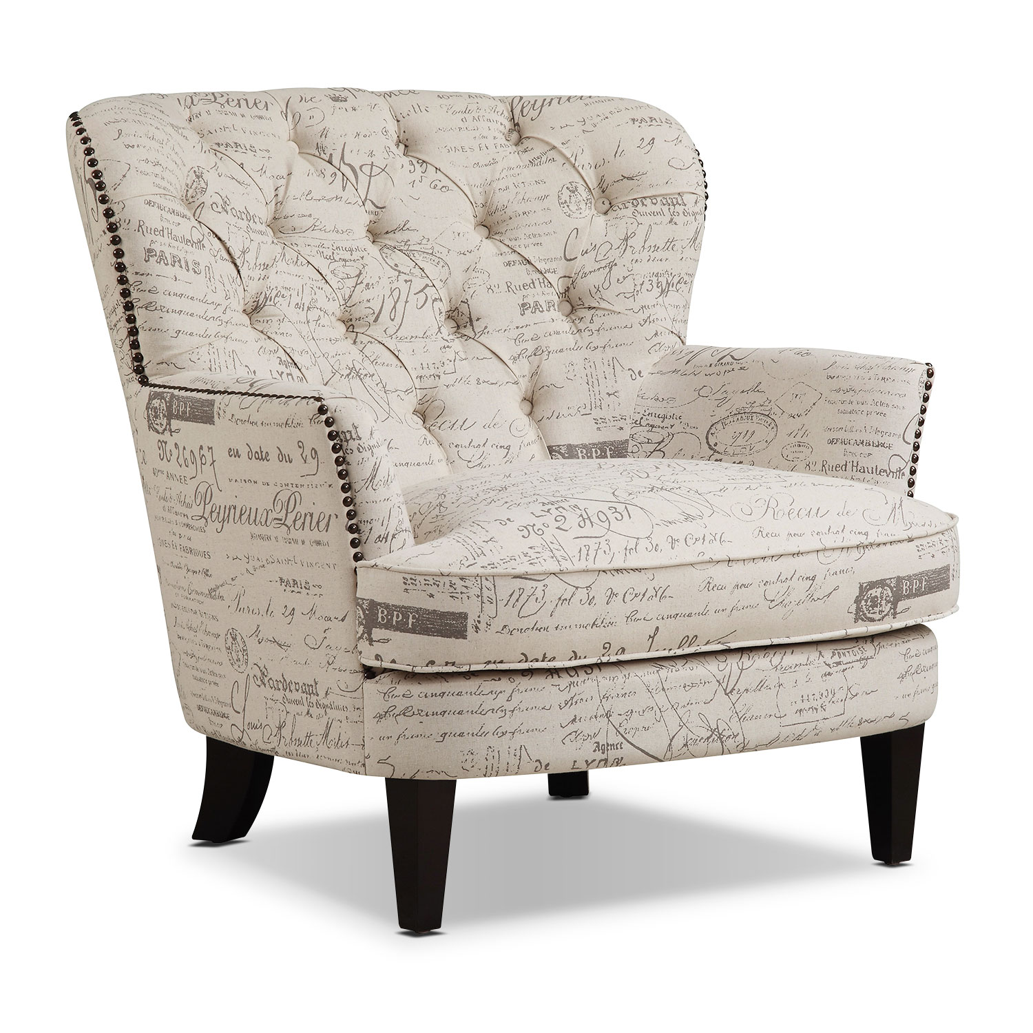 Living Room Furniture - Bayfield Accent Chair