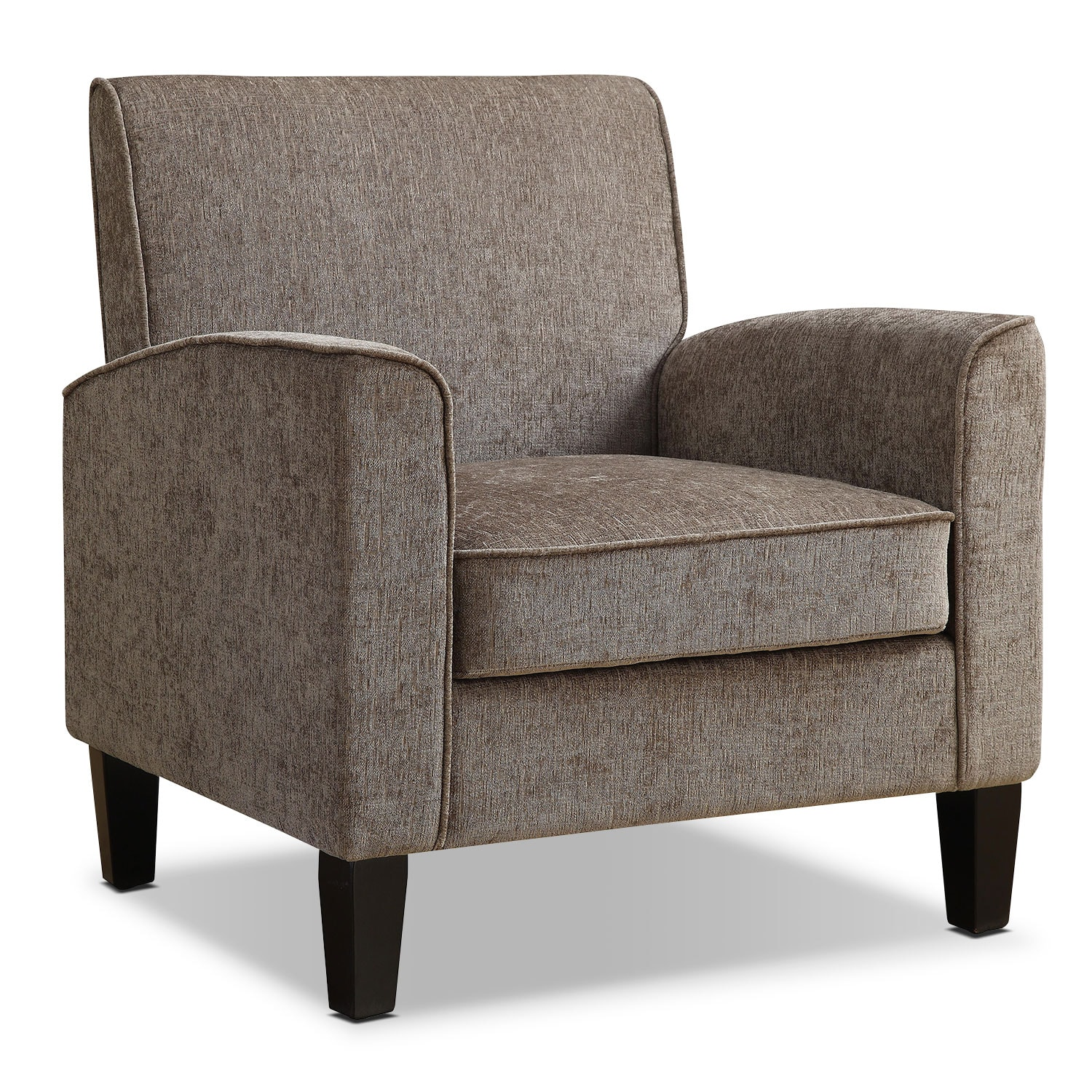 Accent and Occasional Furniture - Southie Accent Chair - Gray