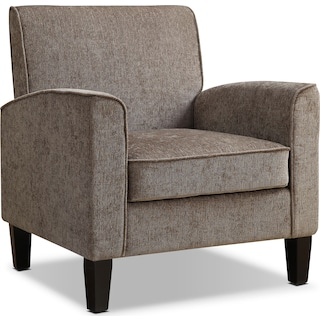 Southie Accent Chair - Gray