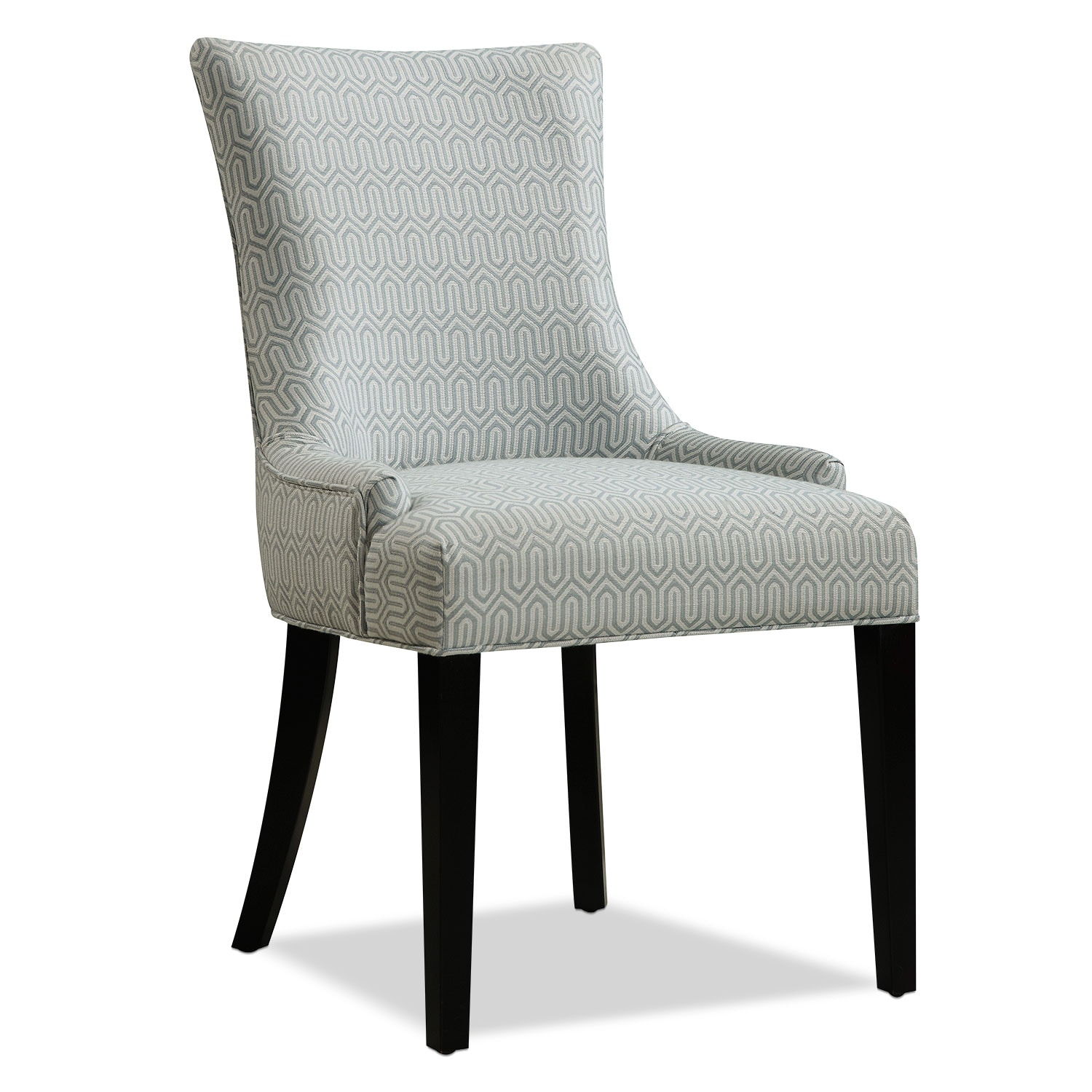 Living Room Furniture - Farren Accent Chair - Mist