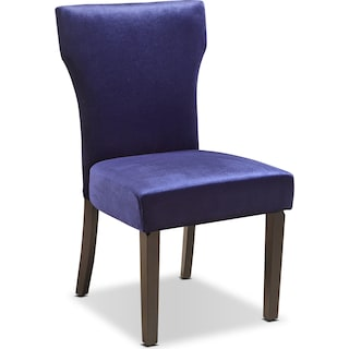 Keene Accent Chair - Plum