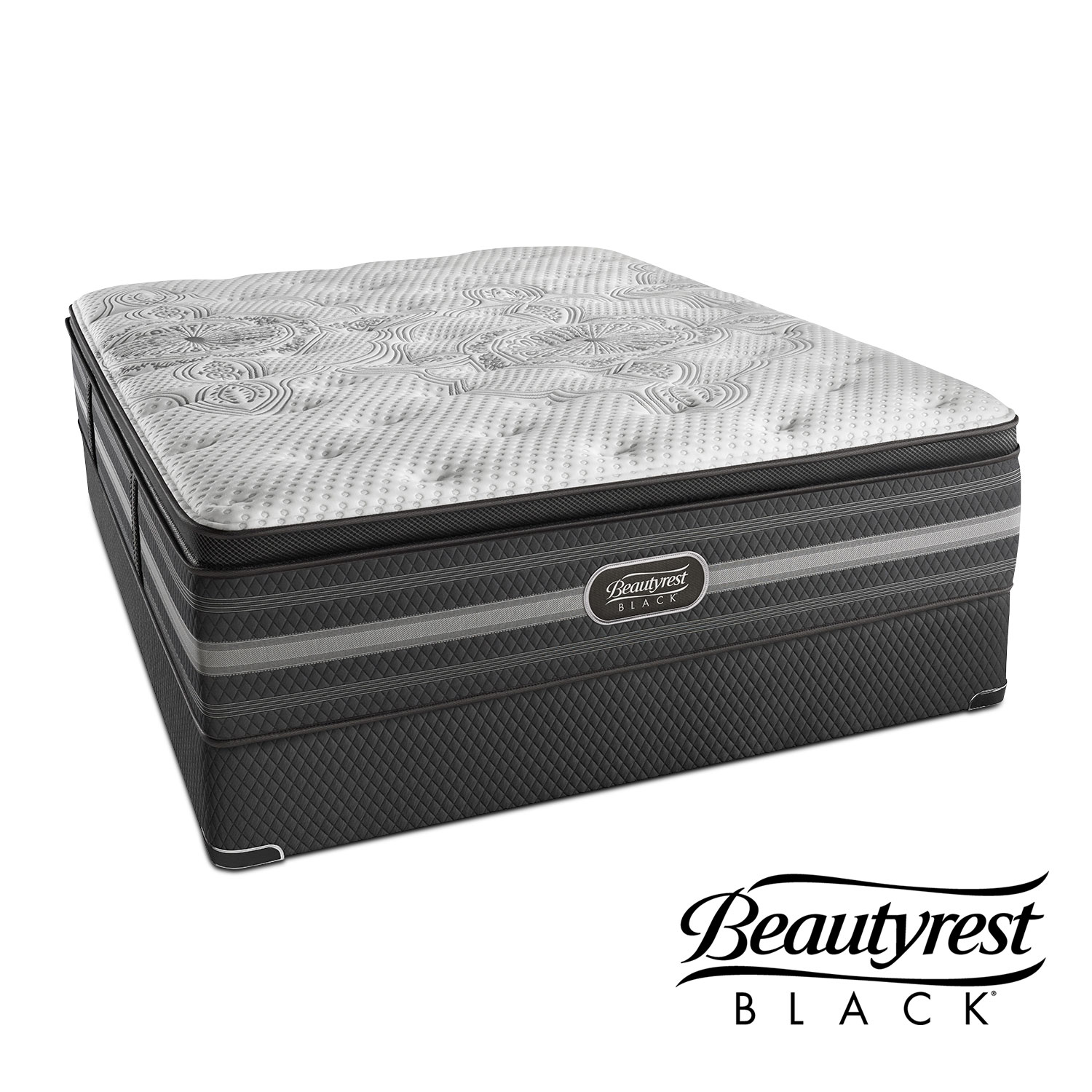 Katarina Luxury Firm Queen Mattress and Split Foundation Set