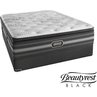 Katarina Luxury Firm Queen Mattress and Low-Profile Foundation Set