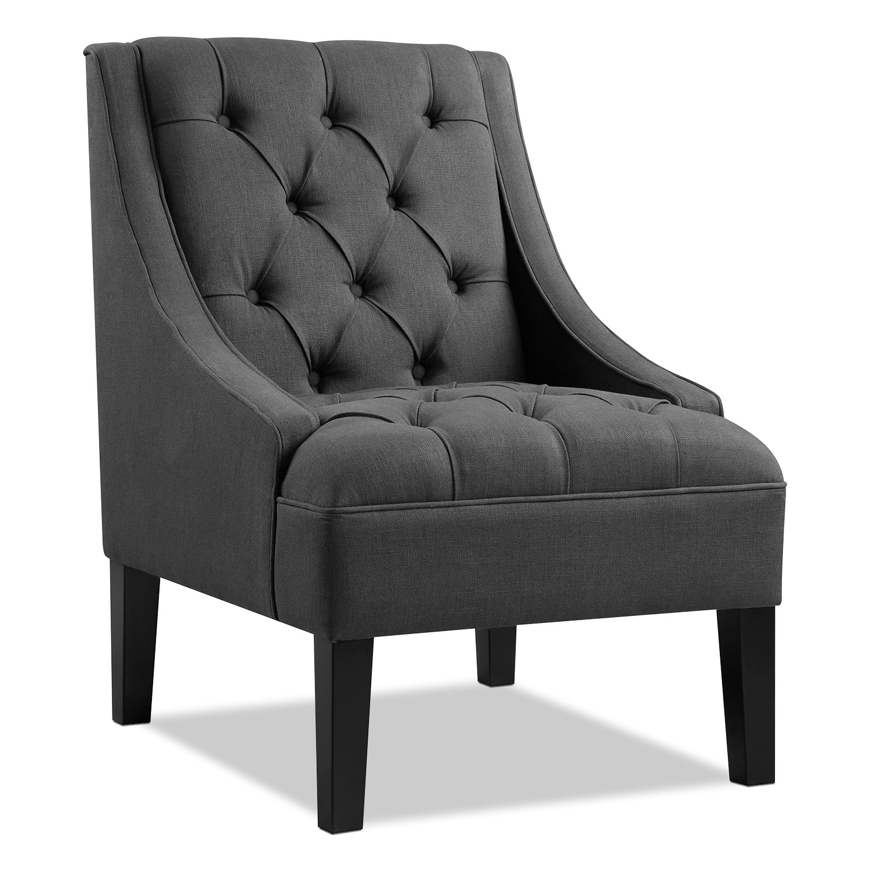 Greylin Accent Chair   Gray