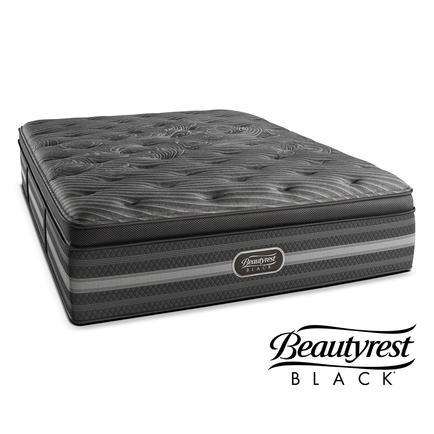 Natasha Plush Mattress By Beautyrest Black