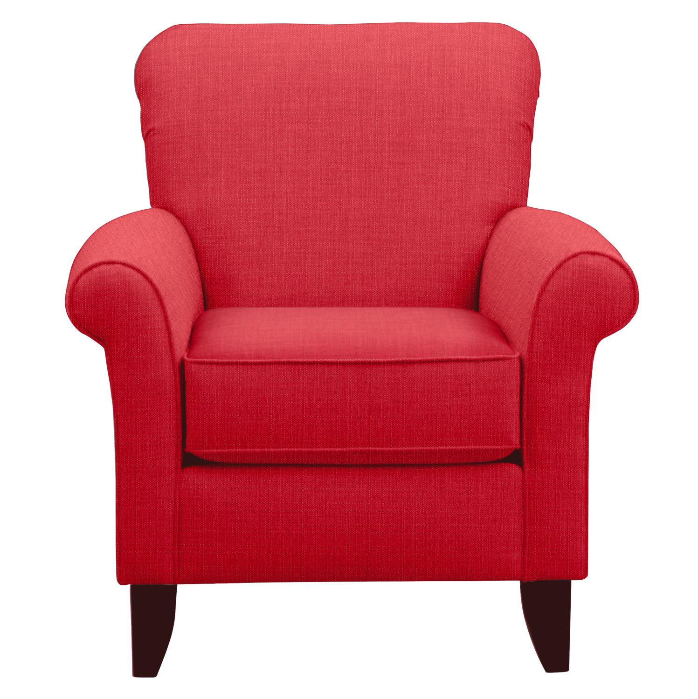 Living Room Furniture - Tracy Chair w/ Depalma Cherry Fabric