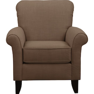 Tracy Chair w/ Oakley III Java Fabric
