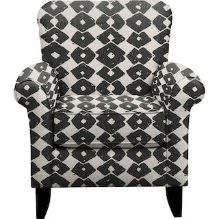 Tracy Chair w/ Beechwood Granite Fabric