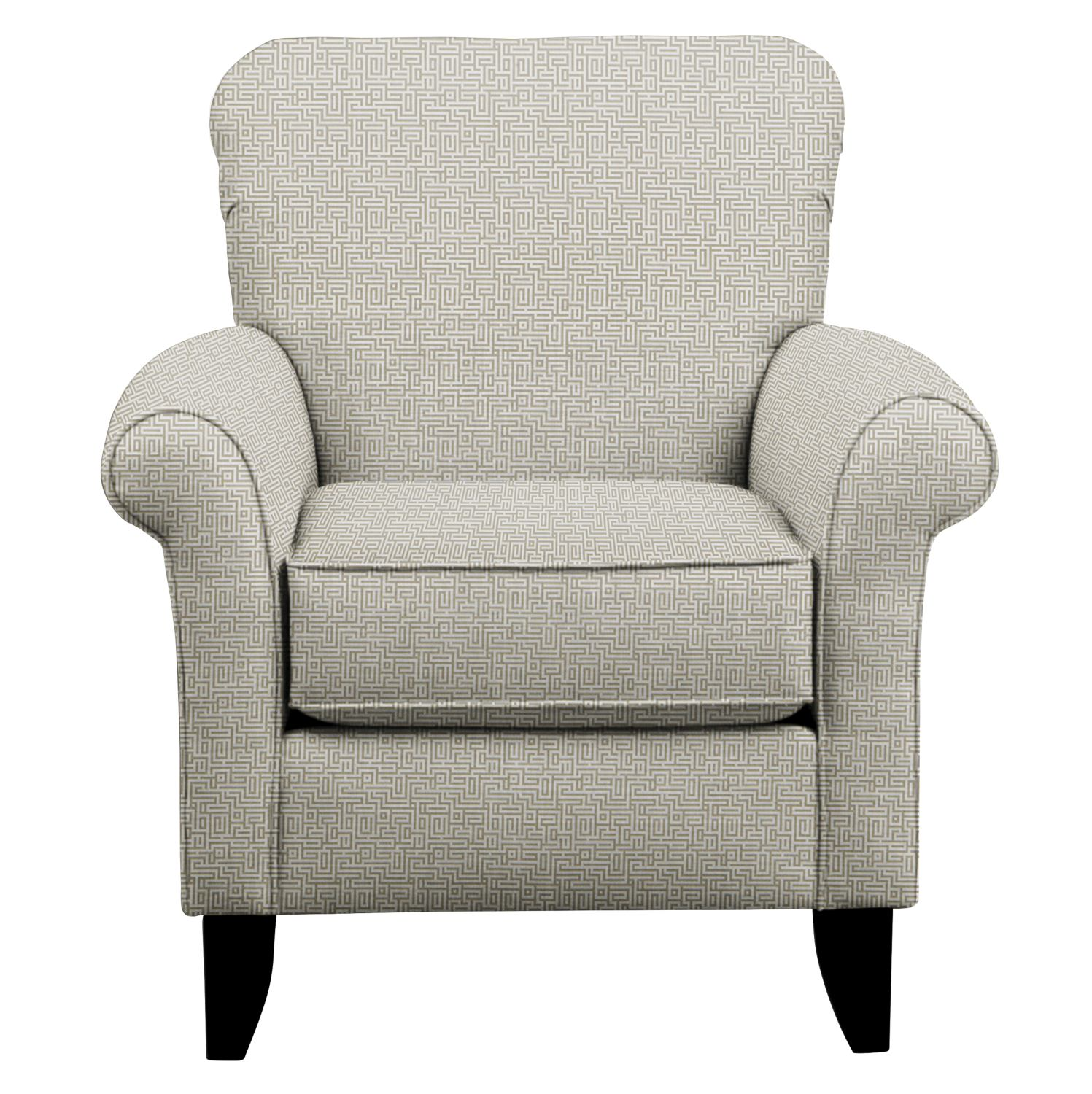 Living Room Furniture - Tracy Chair w/ Interlochen Slate Fabric